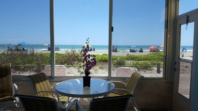 Photo for BEAUTIFUL CONDO, ON THE BEACH WITH BOAT DOCK, GULF VIEW, OVERLOOKING THE BEACH.