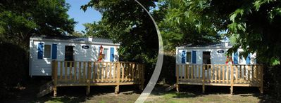 Photo for Camping La Pomme de Pin **** - 3-Room Mobile Home 4/6 People
