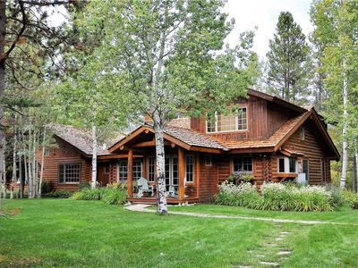 Photo for RMR: Teton View Log Cabin-5 BR, private location with views. Free Activities!
