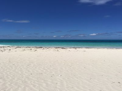 Photo for Stunning Beach, Reef, and Home on Private South End of Great Guana Cay