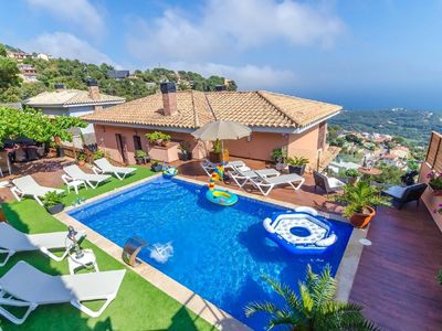 Photo for Holiday house Lloret de Mar for 10 - 12 persons with 5 bedrooms - Holiday house