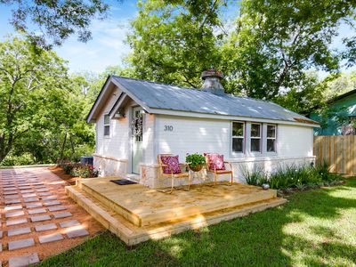 Photo for Early 1900's renovated house within walking distance to downtown Boerne, Tx