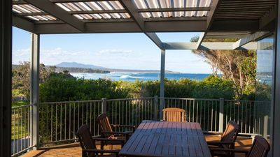 Photo for Cuttagee Views -Exceptional ocean vistas from luxury home -10 min to Bermagui -CB22