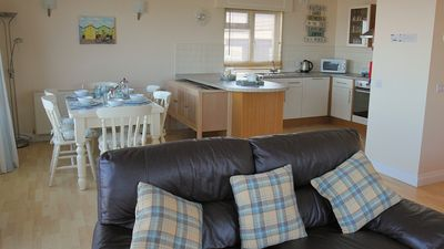 Photo for Luxury Three Bedroom Lundy Bungalow Right on the Sea Front of Westward Ho!