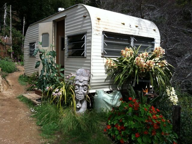 Property Image#3 Romantic Ocean View Vintage Trailer Eco Retreat