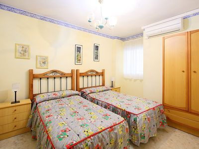 Photo for Apartment in the center of Torre de Benagalbón with Parking, Washing machine, Air conditioning, Garden (87019)