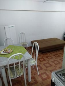 Photo for 1BR Apartment Vacation Rental in Ponta da Praia, SP