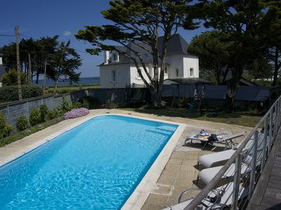 Photo for House of 150 m2 with sea view and private pool