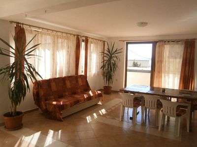 Photo for One bedroom apartment with balcony and sea view Igrane (Makarska)