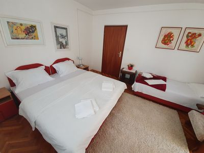 Photo for Mihovic One Bedroom Apartment with terrace