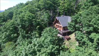 Photo for Lovely Mountain Top Chalet-25min Tremblant