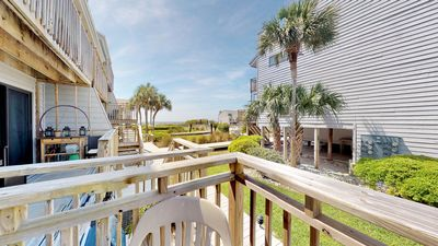"""Photo for No Hurricane Damage! Bring your pooch and enjoy pool and Gulf views! East End, Pool Side, Wi-Fi, 2BR/2.5BA """"Ocean Mile E-3"""""""
