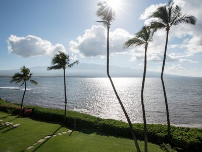 Photo for OCEANFRONT CONDO with STYLE, COMFORT, & AMAZING  VIEWS of OCEAN & HALEAKALA