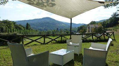 Photo for Special Offer: two-room comfort apartment in a villa with pool near Assisi