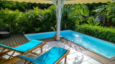 Photo for VILLA BLUE MANGO: 150 M FROM THE BEACH AND LAGOON