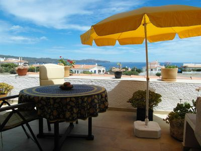 Photo for Comfortable terrace house near the sea in Cadaques (Costa Brava)