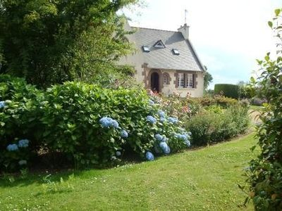Photo for Breton house located in a closed park in the countryside, near paimpol