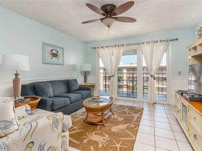 Photo for Oceanfront Condominium in the Golden Isles with Pool, Beach Access, Fitness Ctr, Tennis