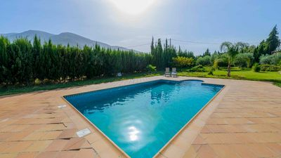 Photo for Charming rustic villa with large swimming pool in Orgiva