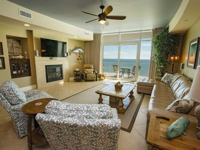 Photo for Balcony Hot Tub /Grill ~ Great Amenities ~ All Tile ~ Amazing View ~ Sleeps 8 ~ Turquoise 2506C