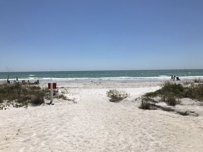 Photo for Enjoy white sand, amazing sunsets in a beautiful, comfortable, renovated condo