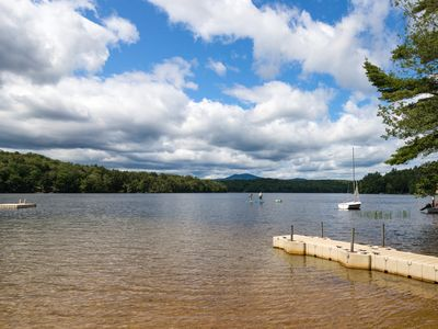 Photo for Charming dog-friendly cottage w/large yard, fireplace & lake access!