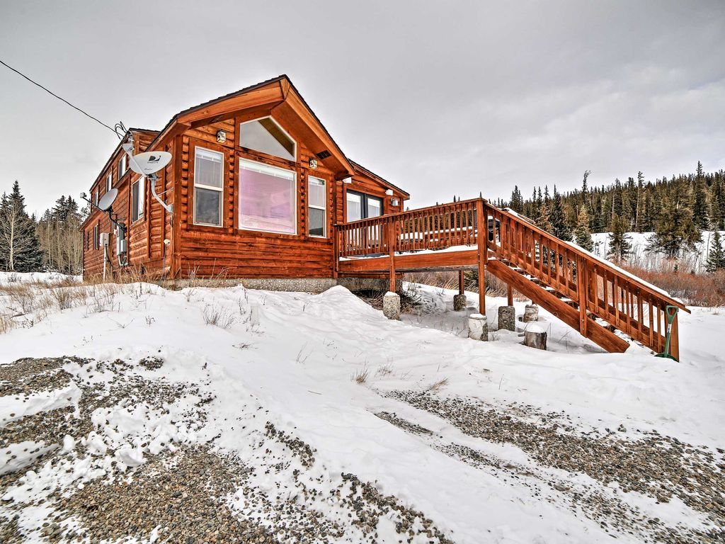 Serene 2br fairplay cabin w pont spacieux colorado for Cabine vicino a fairplay co