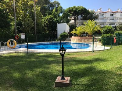 Photo for Duplex apartment walking distance to beach and shops