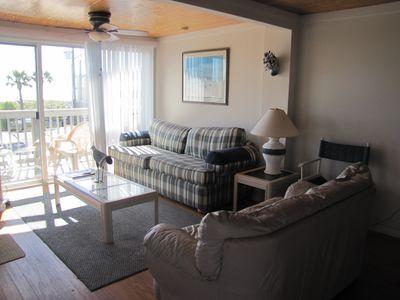 Photo for Oceanview Condo - 2 Bed/2 Bath with Beach Access Across Road