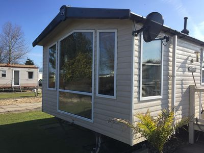 Photo for Luxury 8 berth dog friendly caravan at Southview holiday park ref 33085S