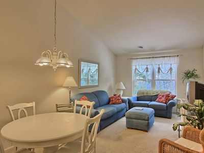 Photo for 2BR Adorable Creekside Condo in Charlevoix, walk to shopping