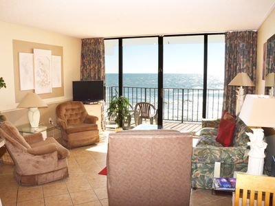 Photo for BEAUTIFUL 2 BEDROOM CONDO RIGHT ON THE BEACH