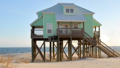 Photo for Strand Castle- Large Gulf-Front home with Game Room and Private, Heated Pool