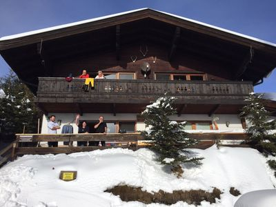 Photo for cozy apartment directly at the ski slope (1. 614m above sea level)