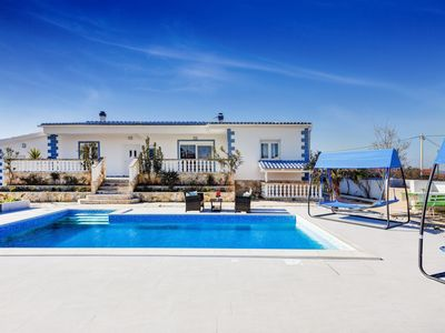 Photo for Lovely Villa Mateo, in Zadar, with a Pool
