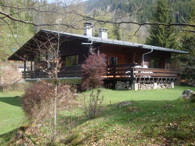 Photo for Grand chalet, location and exceptional panorama Chamonix valley