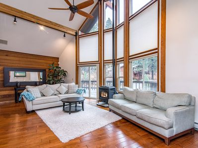 Living Room - Welcome to Incline Village! Your rental is professionally managed by TurnKey Vacation Rentals.