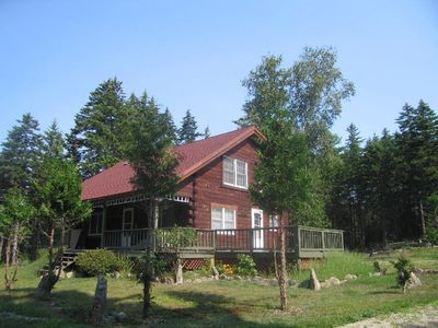 Photo for Log Home on Mount Desert Island in private setting, close to Acadia & Bar Harbor