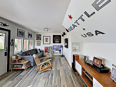 """Photo for New Listing! Water Views at """"Easy Street Beach House"""" on Alki"""