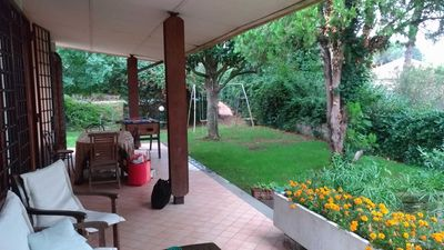 Photo for Whole villa with swimming pool 15 km from Rome - Sacrofano Monte Caminetto