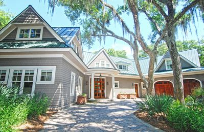 This luxury home has been featured on the cover of Charleston Home Magazine.