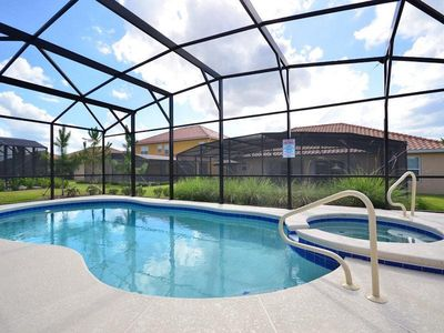 Photo for ★ SWEET DISNEY VACATION 5 BED PRIVATE POOL FREE WIFI