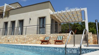 Photo for Villa in the Istrian countryside with private pool