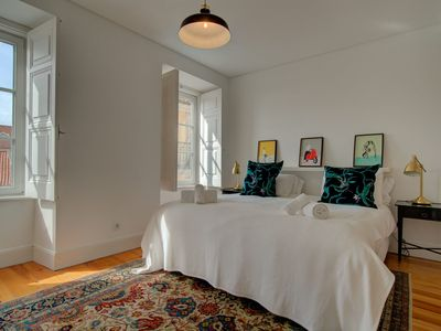 Photo for A modern and stylish, 2 BR in Lisbon center, sleeps 4 - Principe Real