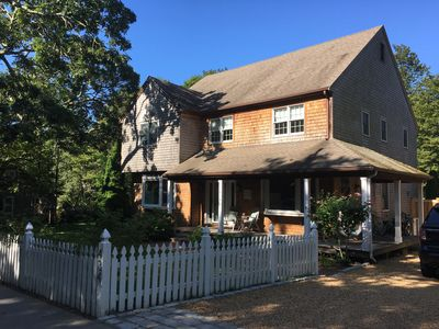 Photo for 4 bedroom 3.5 bath Main Street, Vineyard Haven Home, Central Air