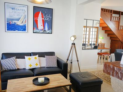 Photo for 3 bedroom Villa, sleeps 6 in Carnac with WiFi