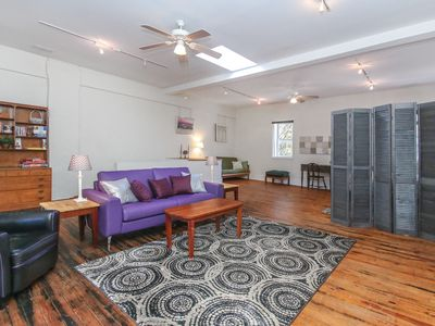 Photo for DOWNTOWN LOFT on Broadway + Pet Friendly +  Park free parking for up two vehicl