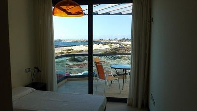 Photo for El Cotillo Front Line Apartment with stunning sea views