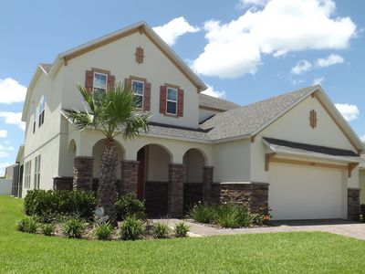 Executive Villa In West Haven, Davenport, Florida, - Free Pool and Spa Heating