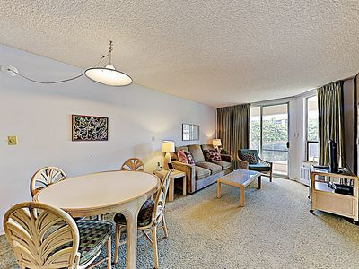 Living Area - Welcome to Maui Banyan! This condo is professionally managed by TurnKey Vacation Rentals.